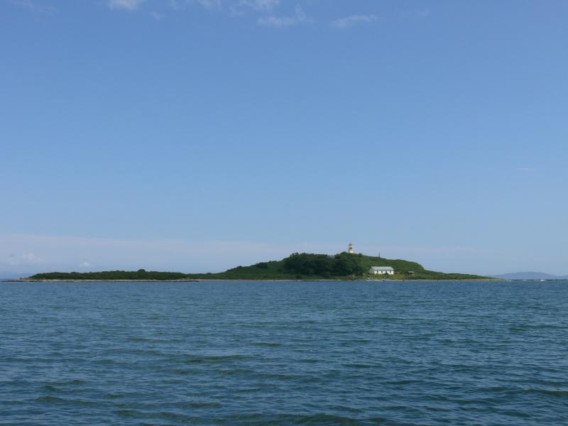 Вид на остров Кроличий